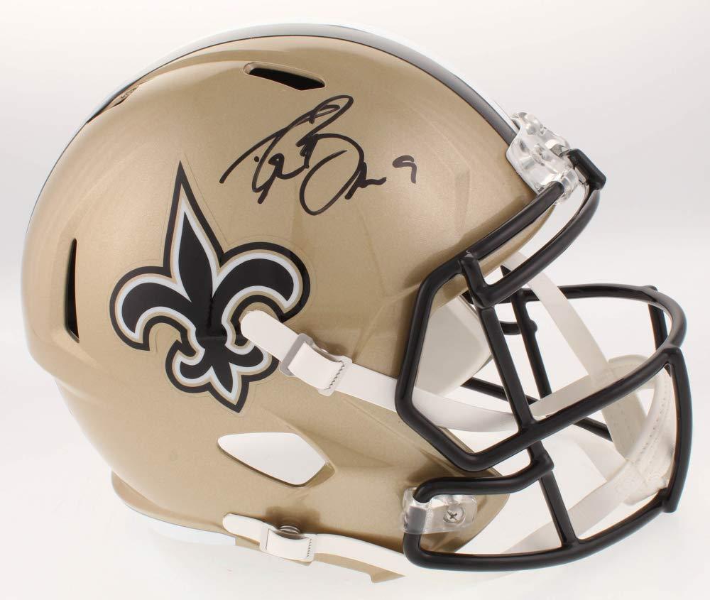 Drew Brees New Orleans Saints Signed Autograph Speed Full Size Helmet JSA Certified
