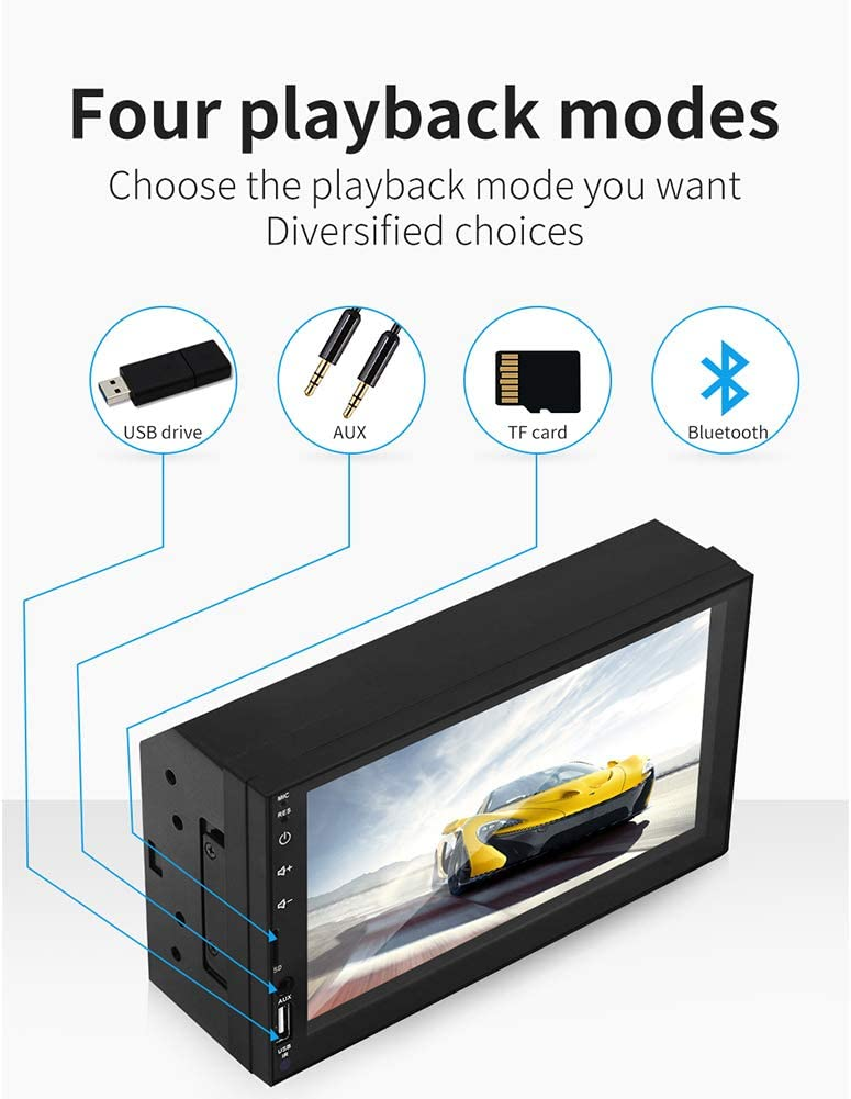 RONSHIN 7 HD Car Stereo Radio USB Link for Apple CarPlay Multimedia Player SWM-X2 Without camera