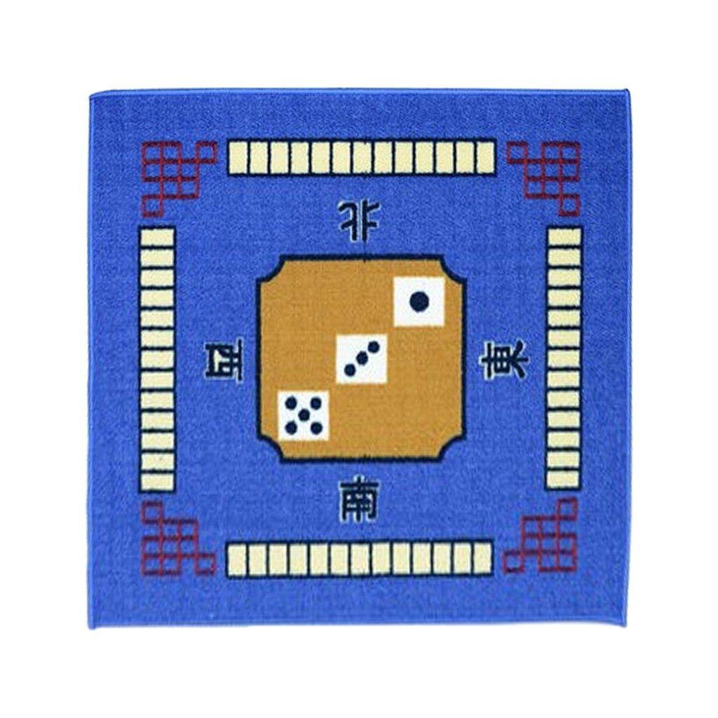 Vert Rouge Hellery Couverture De Jeu De Tapis De Table Professionnelle pour Mahjong Choix De Jeux De Cartes De Couleur Marron Bleu Rouge