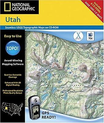 Amazon.com: National Geographic TOPO! Utah Map CD-ROM (Mac ...