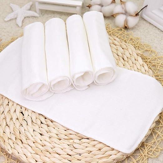 FairOnly - Pañales absorbentes Lavables (5 Unidades, 8 Capas, Gasa ...