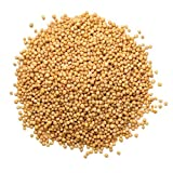 Yellow Mustard Seeds, 50 Pounds - Kosher, Raw, Vegan, Bulk