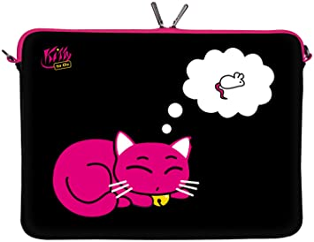Designer Laptoptasche | Kitty To Go Ls143 15 Designer Laptoptasche 15 6 Zoll Amazon De