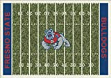 Milliken 4000096143 CAL State Fresno College Home Field Area Rug, 10'9'' x 13'2'', 74399 Home Field