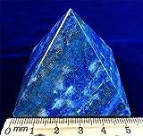Large Lapis Lazuli Chakra Spiritual Healing Crystal Gem Pyramid Large 50 mm Base Beverly Oaks Exclusive COA