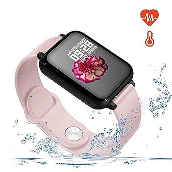 Meiwen2019 Pulsera de Actividad, Reloj Inteligente con Pulsómetro ...