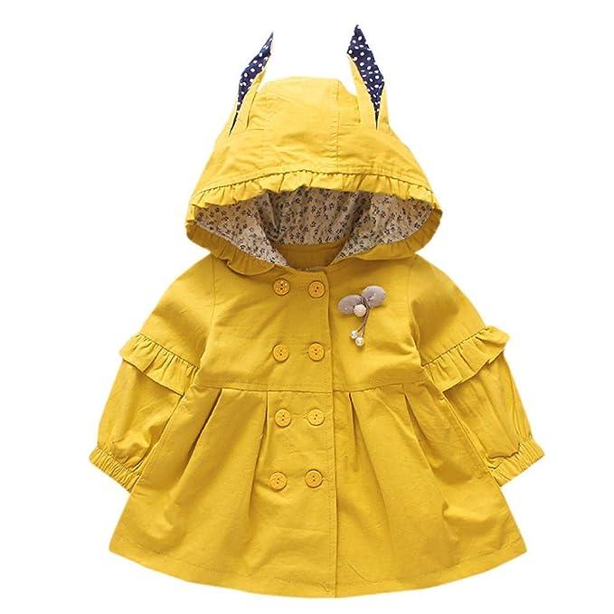 Glaiidy Cappotto Per Bambini Cappotto Con Cappuccio Per