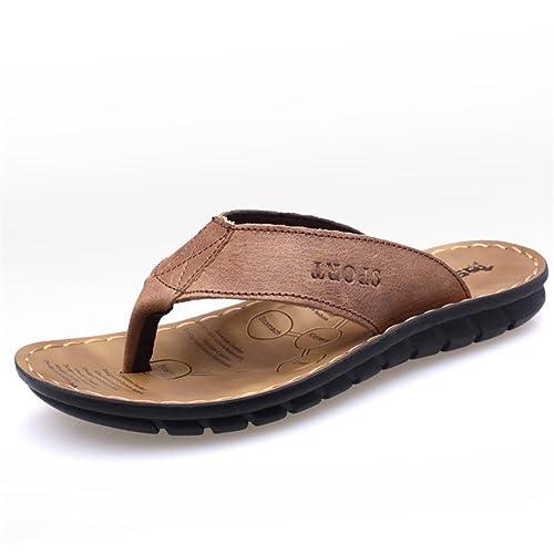 2018 Zapatos nuevos para Hombres Chanclas de Microfibra Primavera Verano Mocasines y Slip-Ons Transpirables