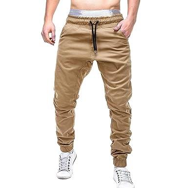 beautyjourney Pantalones Cargo de Hombres, Pantalones de chándal ...