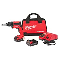 Deals on Milwaukee M18 FUEL 18V Li-Ion Compact Drywall Screw Gun Kit