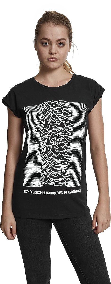 MERCHCODE Ladies Joy Divison Up Tee T-Shirt Donna
