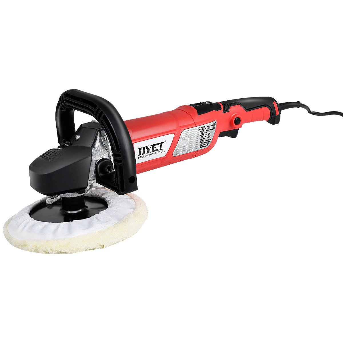 Goplus Electric Car Polisher Variable Speed 7-Inch Buffer Sander Detail Boat with Case