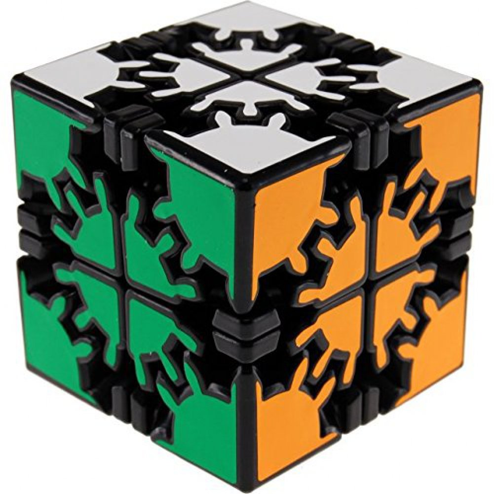 342fb77d25a2 Meffert's David's Gear Cube - Black Body