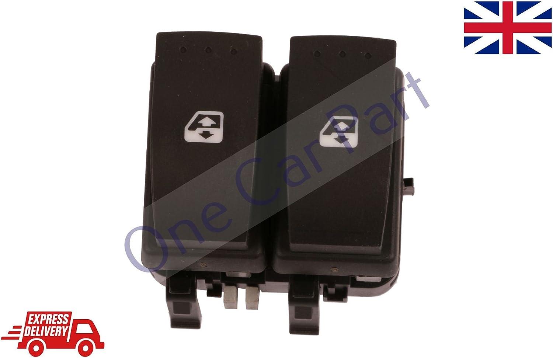 RENAULT LAGUNA MK2 MEGANE MK2 ELECTRIC WINDOW DOUBLE SWITCH DRIVER 8200315042