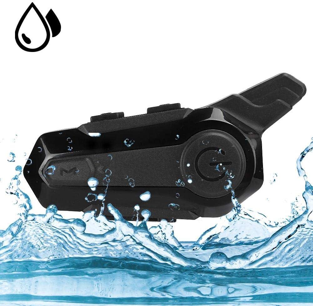 /équipement de Cyclisme sans Fil pour Talkie-walkie pour Le Camping en Moto syst/èmes de Communication Bluetooth pour Casque de Moto Casque Bluetooth pour Moto