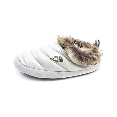 North Face Tent Mule Faux Fur Shiny Moonlight Ivory - (Womens - Small  (6-7.5 uk))  Amazon.co.uk  Shoes   Bags 1ec8a4964e