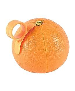 Lyanther 2X Orange ouvreur éplucheur coupeur coupeur Plastique Citron Citron