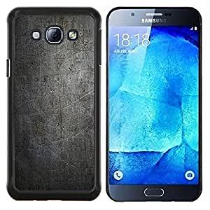 """Be-Star Único Patrón Plástico Duro Fundas Cover Cubre Hard Case Cover Para Samsung Galaxy A8 / SM-A800 ( Modelo negro del Grunge del vintage"""" )"""