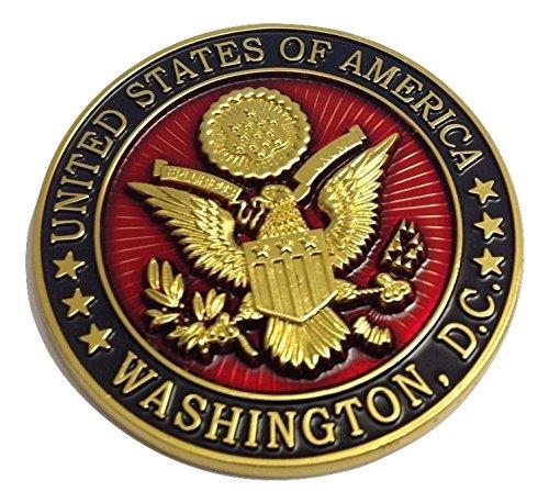Great Seal of United States of America , Washington DC Metal Magnet- Washington DC ()