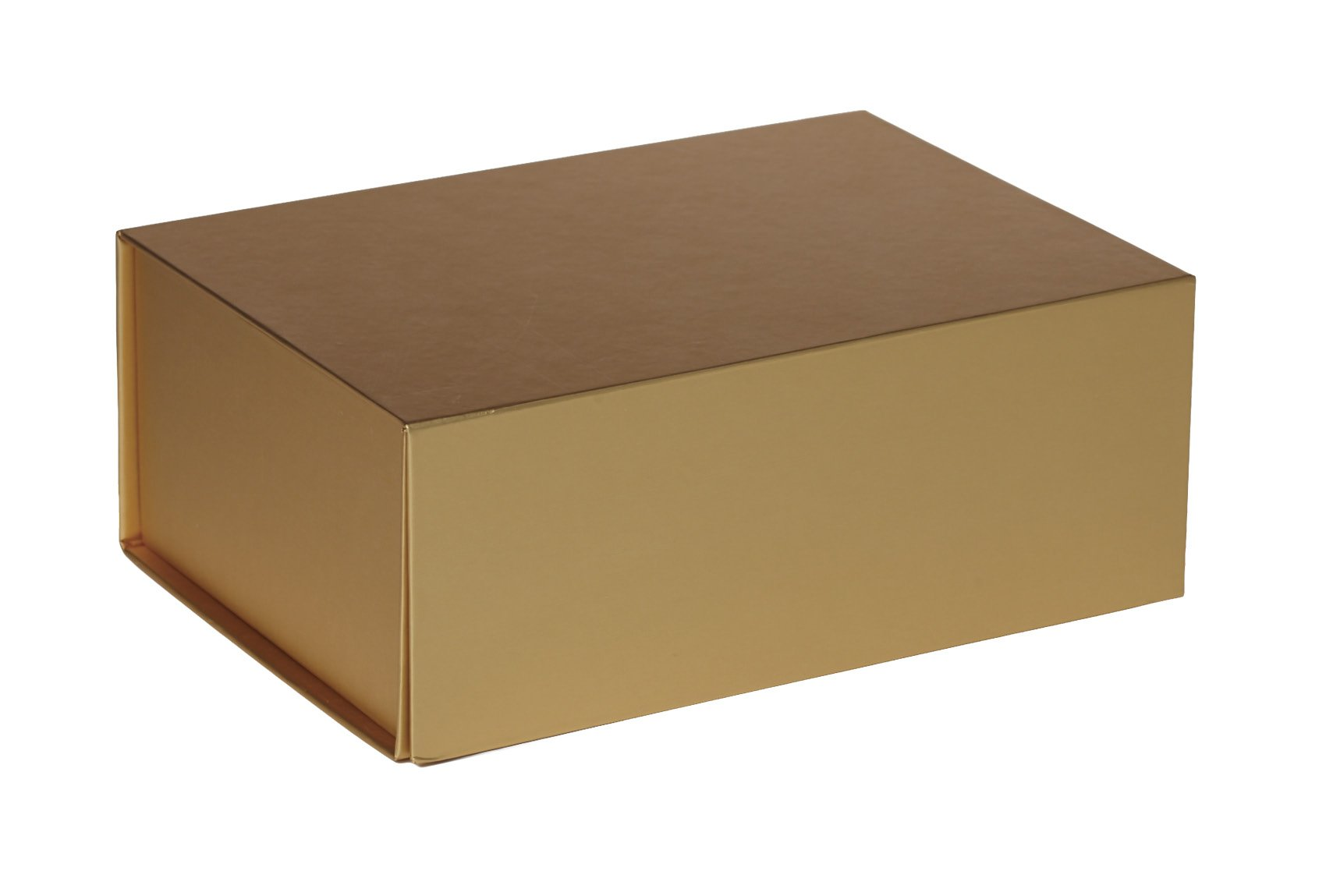 Jillson Roberts 36-Count Small Magnetic Closure Gift Boxes Available in 5 Colors, Metallic Gold Matte