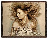 "Taylor Swift ""FEARLESS"" Blanket Throw"