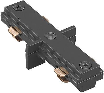 WAC Lighting HI-BK H Track I Connector, Black