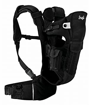 0bdbd7690db Evenflo 761897 Front And Back Snugli Soft Baby Carrier In Onyx  Amazon.ca   Baby