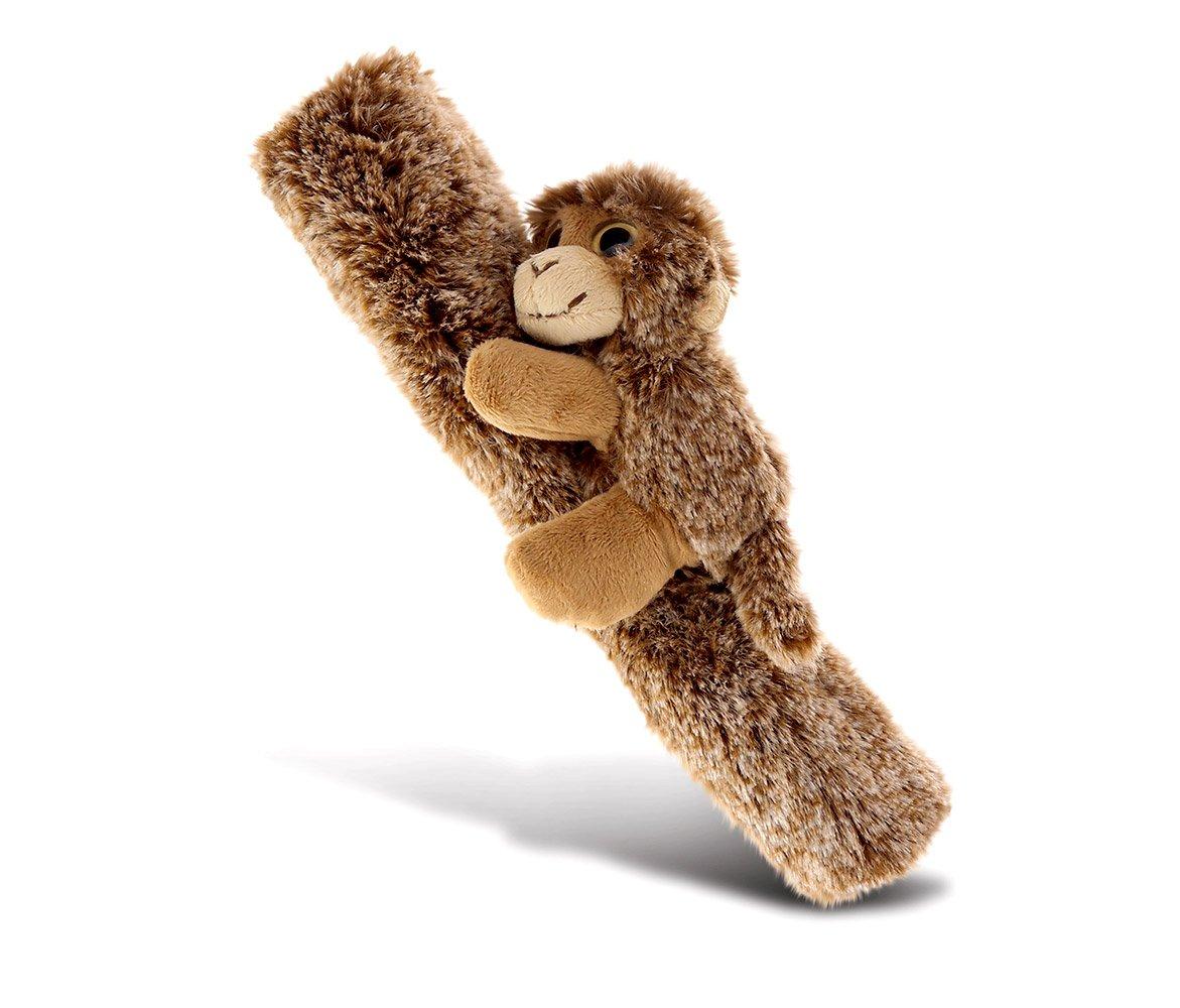 "Kids /& Adults CoTa Global Car Seat Strap /& Belt Covers Plush Monkey Messenger Bag /& Camera 10/"" Soft /& Comfortable Vehicle Chair Shoulder Pad Brown Multipurpose /& Adjustable Leash Cover for Guitar"