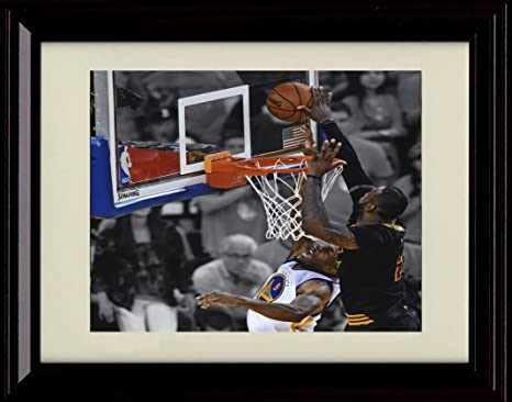 Amazon.com: Framed LeBron James \