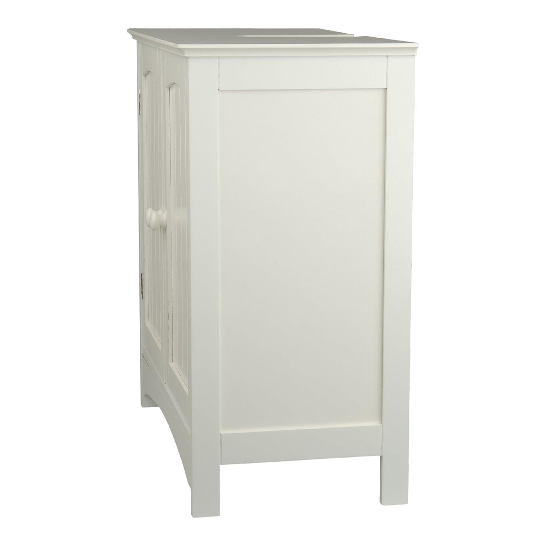 Waschtischunterschrank holz weiß  Waschtischunterschrank Landhausstil: Badmöbel aus holz. massivholz ...