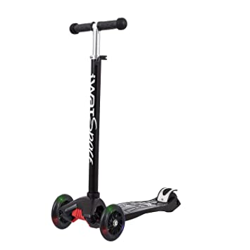 IWATMOTION- Patinete 3 Ruedas, Color Negro (6305_14687 ...