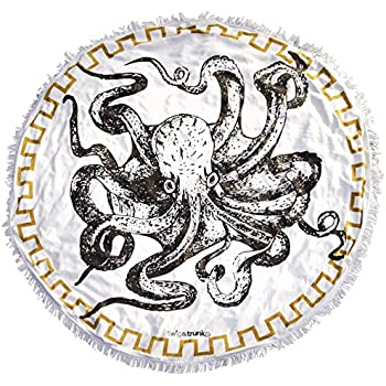 Eight-Legged Wonder Towel - Octopus Round Beach Towel