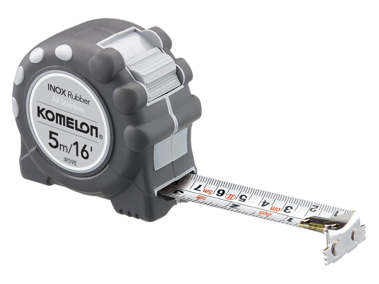Komelon Inox Stainless Steel Tape Measure IR516E | 5m/16ft