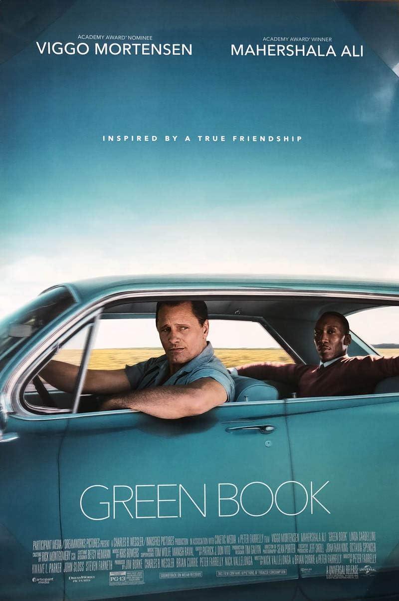 Amazon.com : GREEN BOOK MOVIE POSTER 2 Sided ORIGINAL 27x40 VIGGO ...