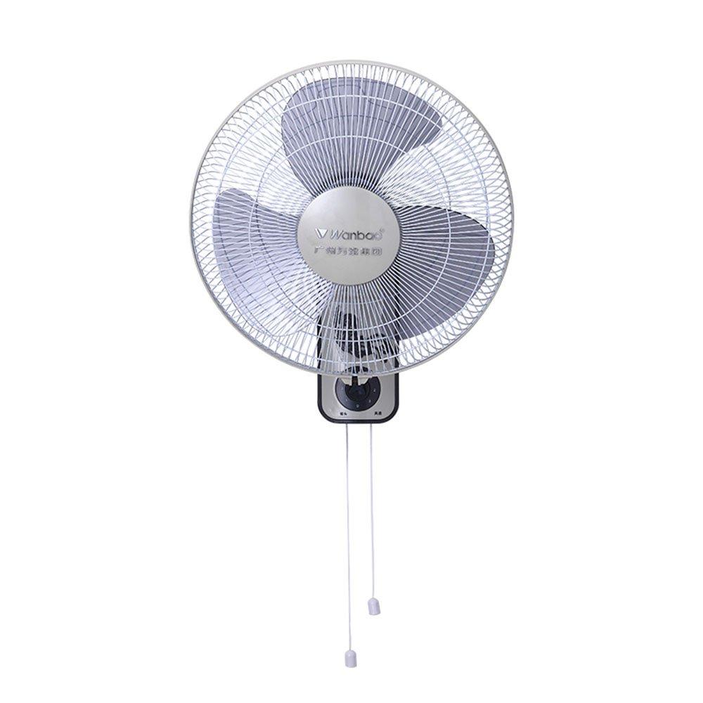 Manual wall fan / wall-mounted energy-saving mute fan / mechanical fan /electric fan wall / fan shaking his head home bedside dining room wall hanging wall fan / engineering fan wall fan