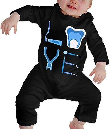 Amazon.com: Unisex Kids Girls Boys Romper Jumpsuit Bodysuit Love Dentist  Soft & Breathable Coveralls Jumpsuits: Clothing