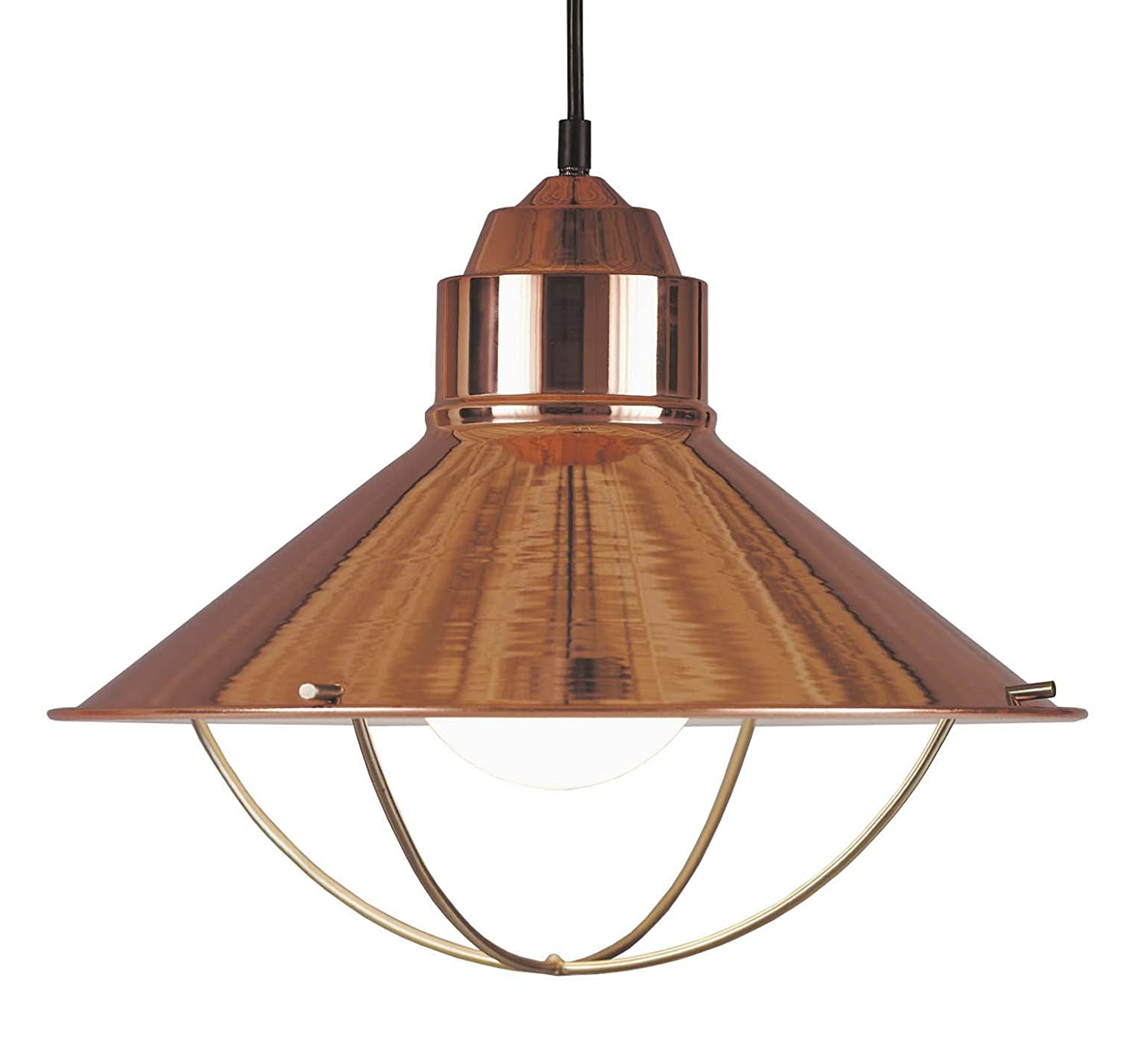 Kenroy home 66349cop harbor 16 inch pendant copper ceiling kenroy home 66349cop harbor 16 inch pendant copper ceiling pendant fixtures amazon aloadofball