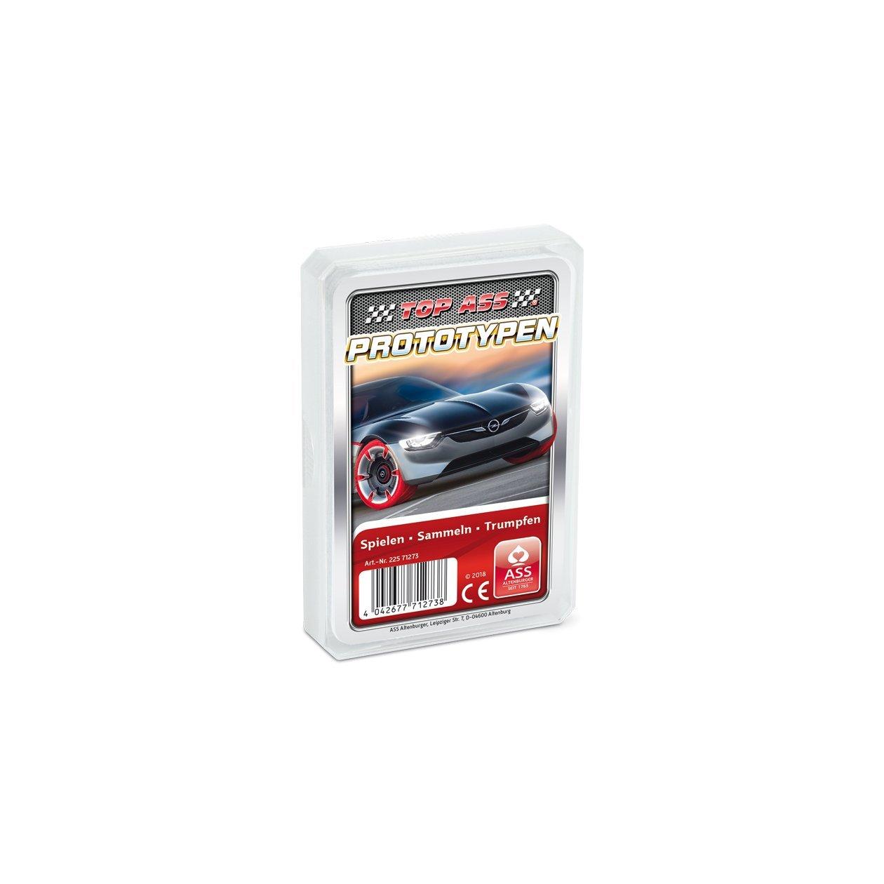 ASS Altenburger 22571273 - TOP ASS Prototypen, Kartenspiel Kartenspiele