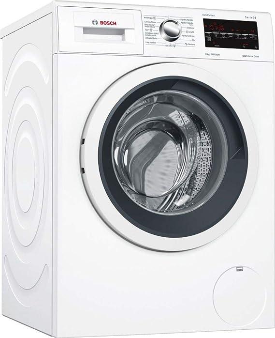 Bosch Serie 6 WAT28469ES Independiente Carga frontal 8kg 1400RPM A+++-30% Negro, Color blanco - Lavadora (Independiente, Carga frontal, Negro, Color ...