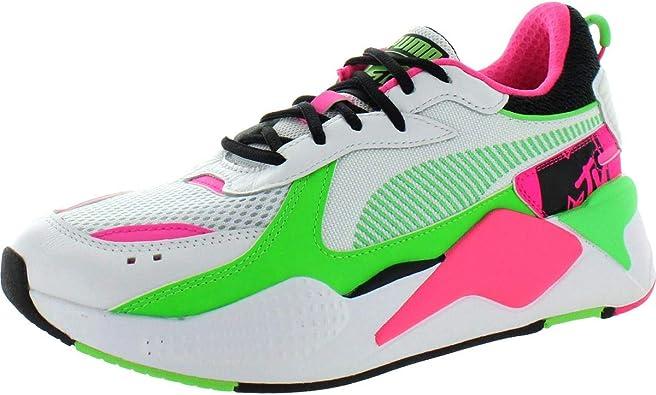 Cantidad de De acuerdo con hambruna  Amazon.com: PUMA RS-X Tracks MTV Zapatillas de piel con suela acolchada  para hombre, Blanco, 14: Shoes