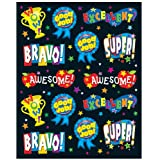 Carson Dellosa Positive Words Shape Stickers (168016)