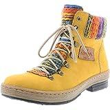 Rieker Z6743 Damen Halbschaft Stiefel: : Schuhe
