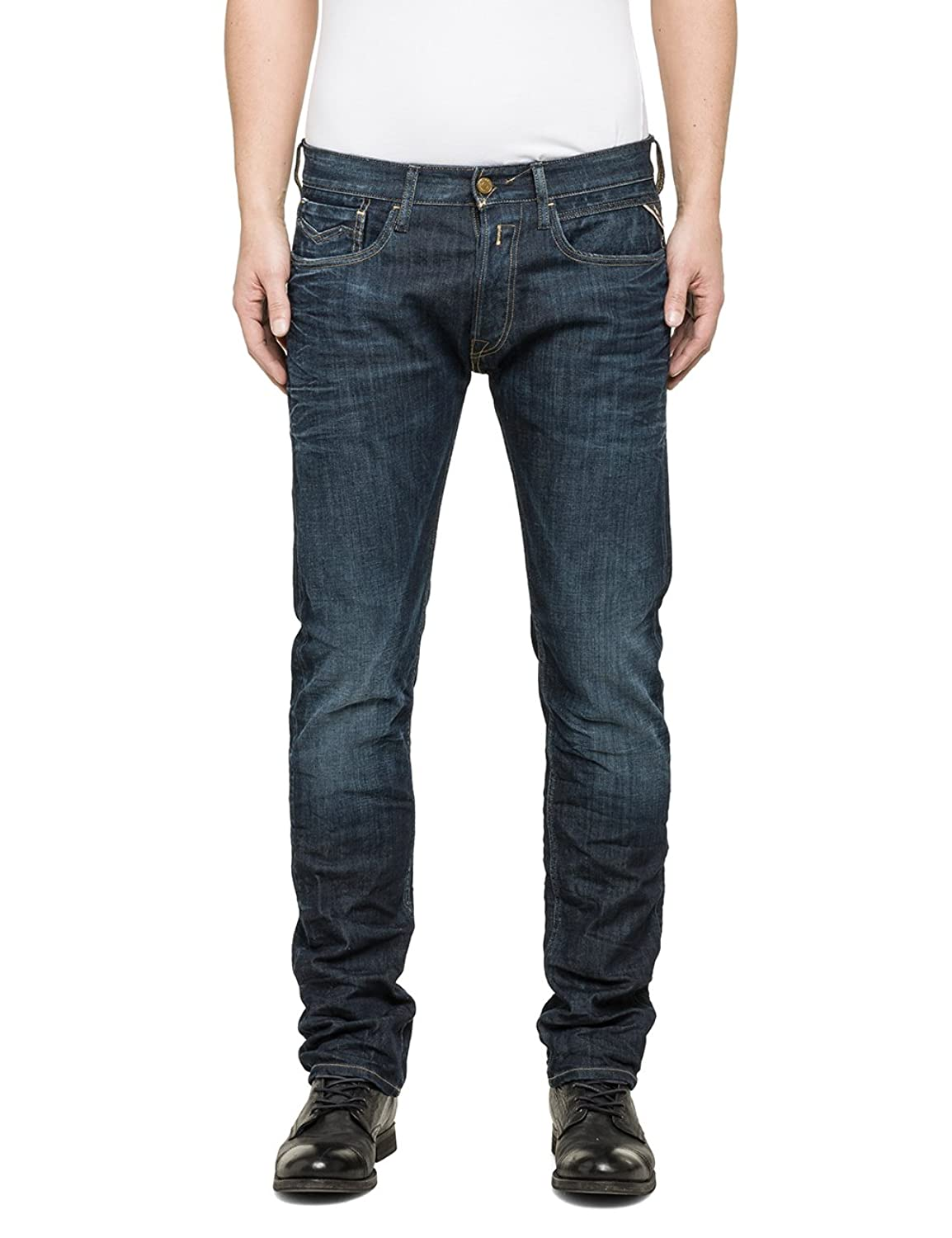 Replay Herren Straight Leg Jeanshose