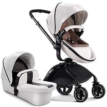 Jian E E-Carro Cochecito de bebé Ligero de Lujo Paisaje Elevado Amortiguador Plegable Carro