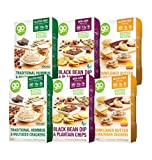 GoPicnic Ready-to-Eat Meals Tasty Favorites Variety Pack - Gluten-Free, Vegetarian (Pack of 6)