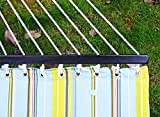 Sportneer Double Hammock Quilted Fabric Double Wide Solid...