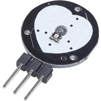 Amazon com: SODIAL(R) Pulse Sensor Heart Rate Sensor Heart