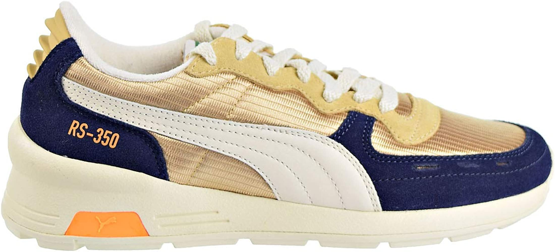 Capilla Peregrinación Podrido  Amazon.com | PUMA Mens RS-350 OG Casual Sneakers, Gold, 11 | Shoes