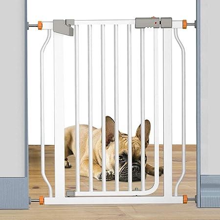Barrera Seguridad Cierre Automático Walk Thru Puerta del Bebé, Barrera De Seguridad para Mascotas para La Cocina Escaleras De Entrada, Extra 103cm De Altura (Color : H 103cm, Size : W 237-244cm):