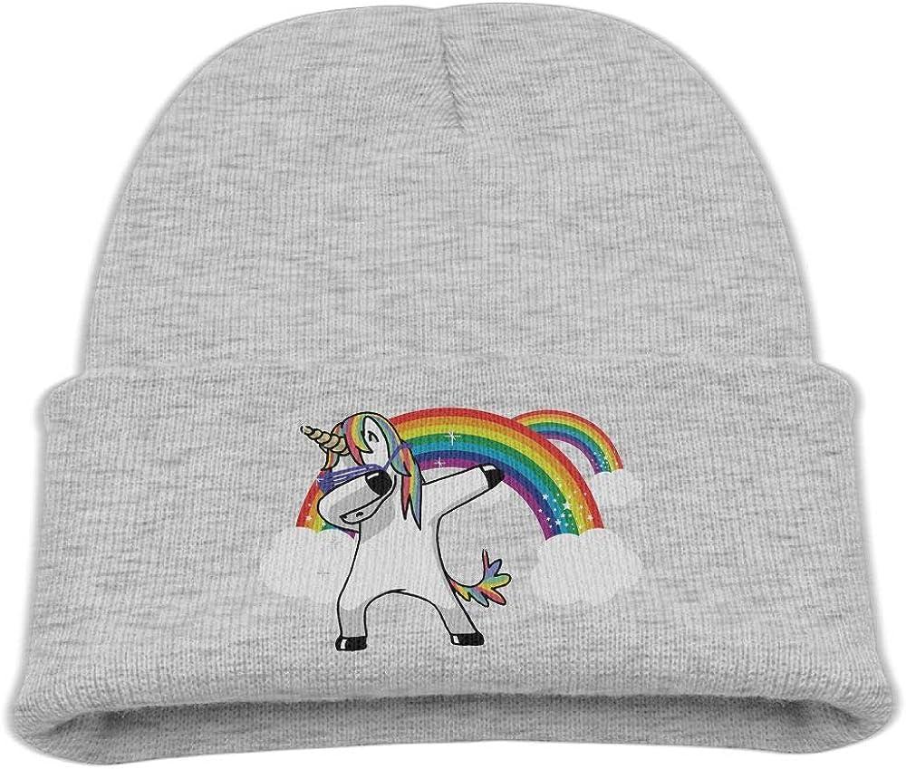 Banana King Unicorn Rainbow Baby Beanie Hat Toddler Winter Warm Knit Woolen Cap for Boys//Girls